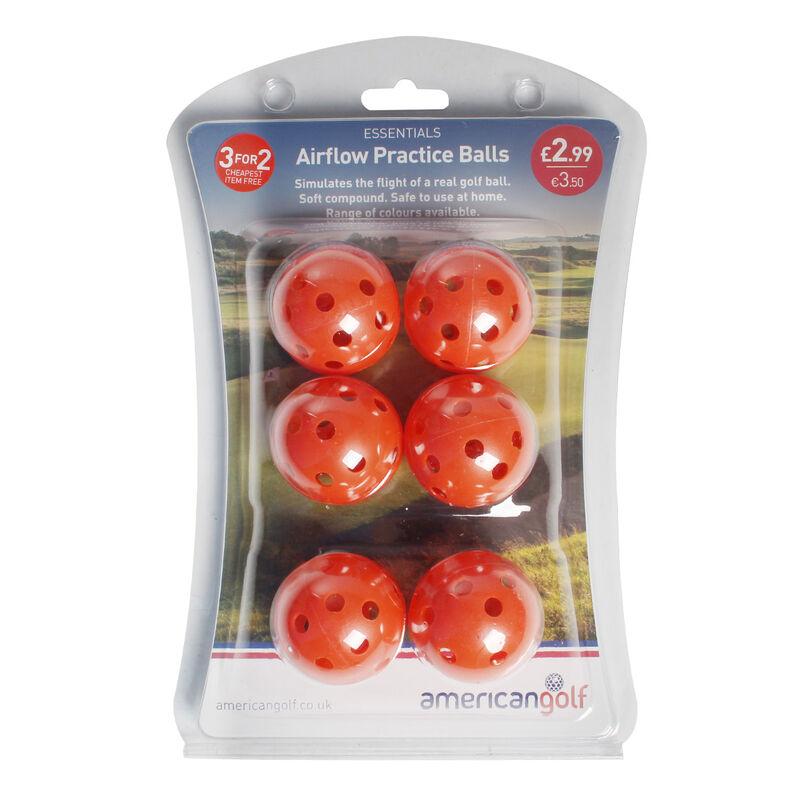 AG Essentials Airflow Practice Balls Male Orange