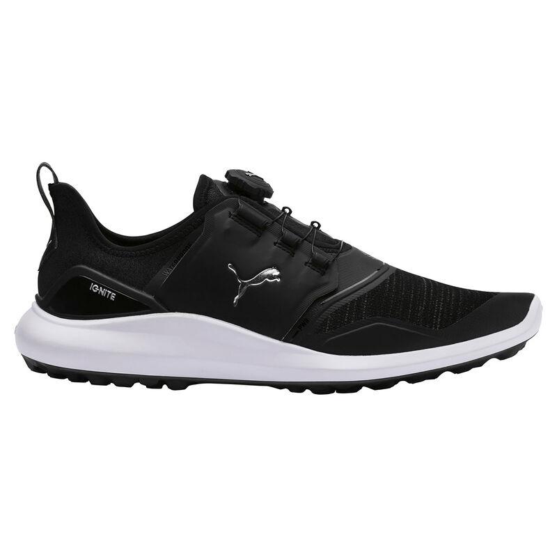 PUMA Golf IGNITE NXT Disc Shoes Male BlackSilver 9