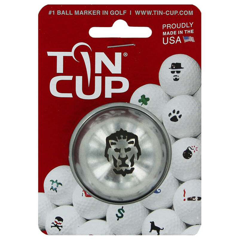 Tin Cup Ball Marker Male BIG CAT One Size