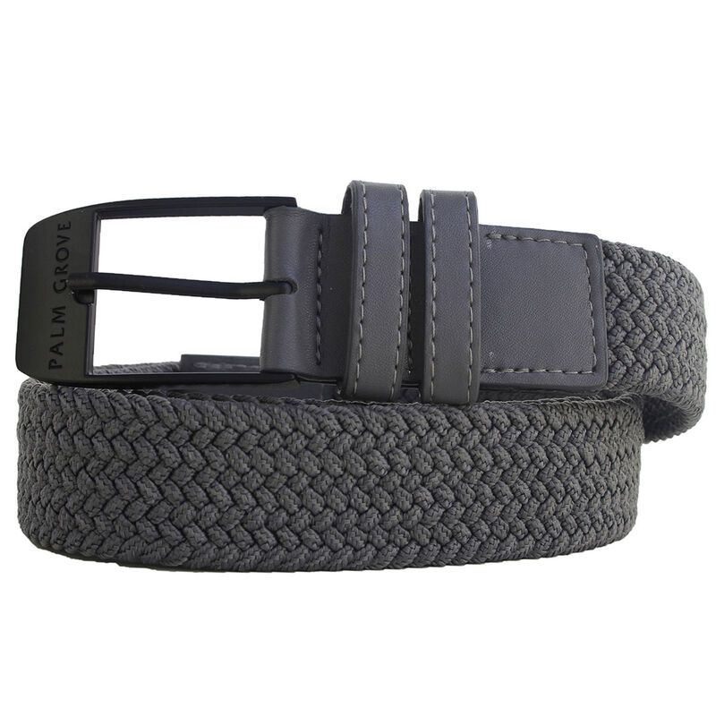Palm Grove Woven Belt Male Grey LargeXL