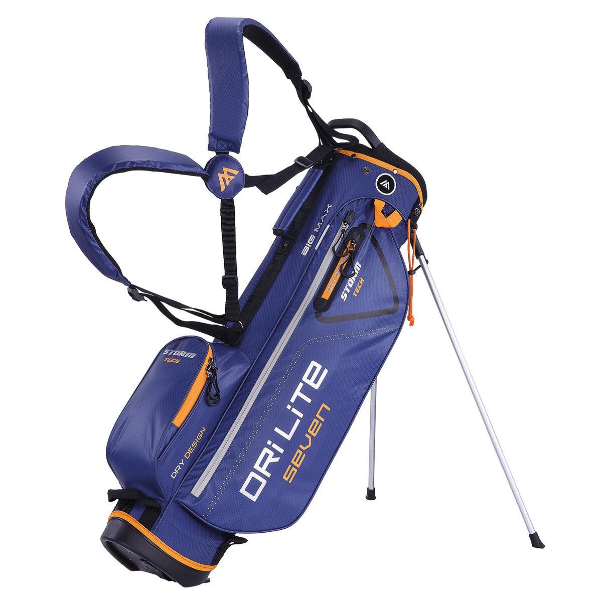 BIG MAX Dri Lite Seven Golf Stand Bag, Black red | American Golf