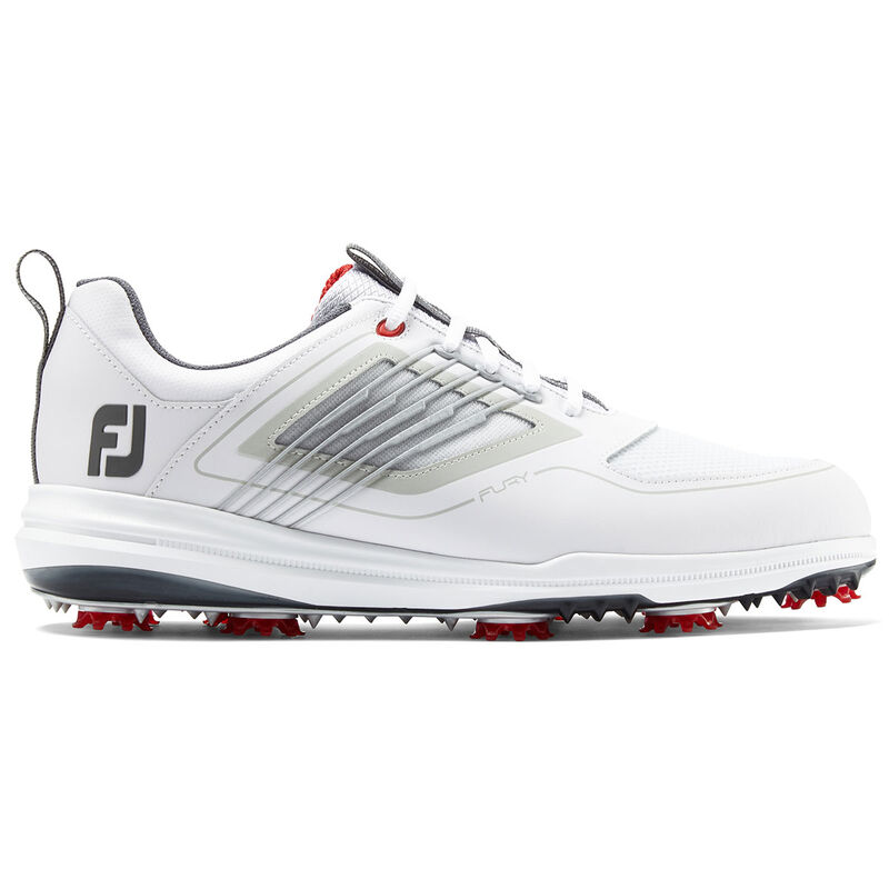 FootJoy Fury Shoes Male WhiteRed 8 Regular