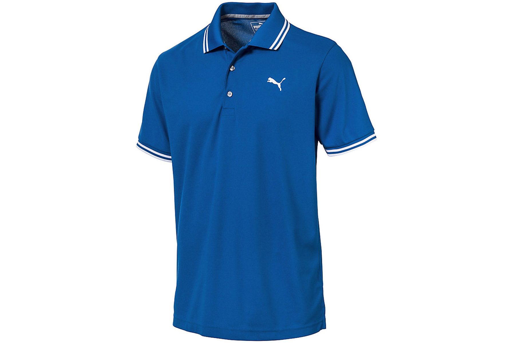 Puma golf pounce pique polo shirt from american golf for Personalised golf shirts uk