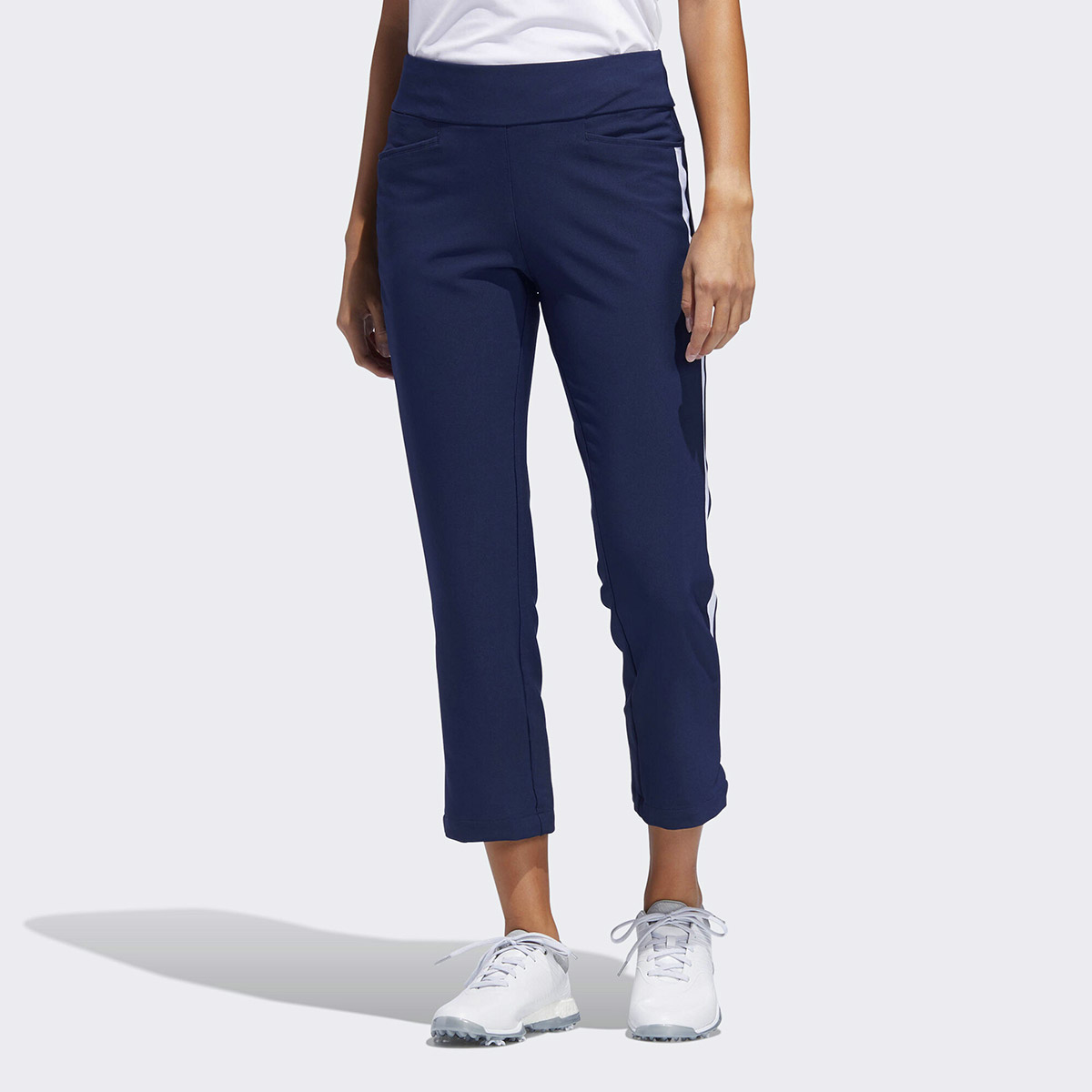 b6ce9bde80 adidas Golf Novelty Flair Cropped Ladies Trousers