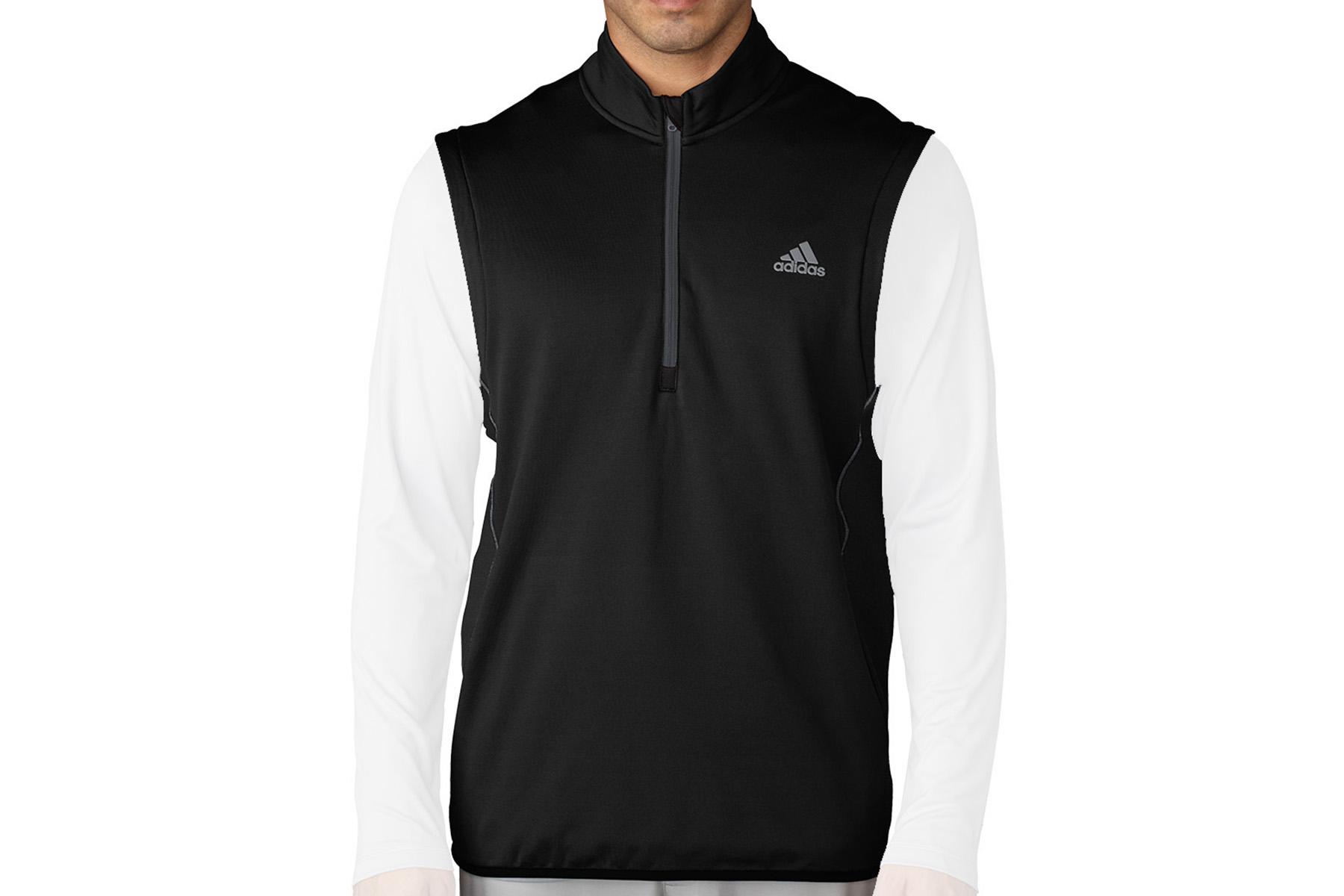Adidas Golf Climaheat 1 2 Zip Vest From American Golf