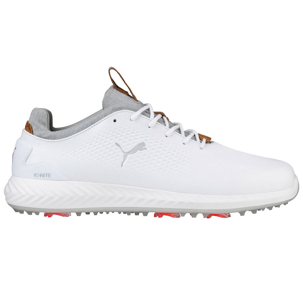 580d9a7b2a PUMA Golf IGNITE PWRADAPT Leather Shoes