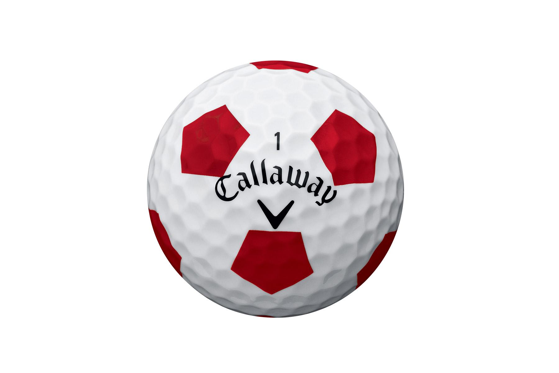 Callaway golf chrome soft truvis ball pack from