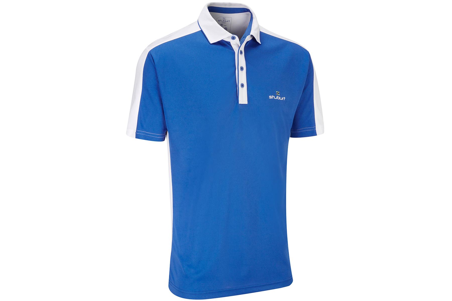 Stuburt moisture wicking polo shirt from american golf for Moisture wicking golf shirts