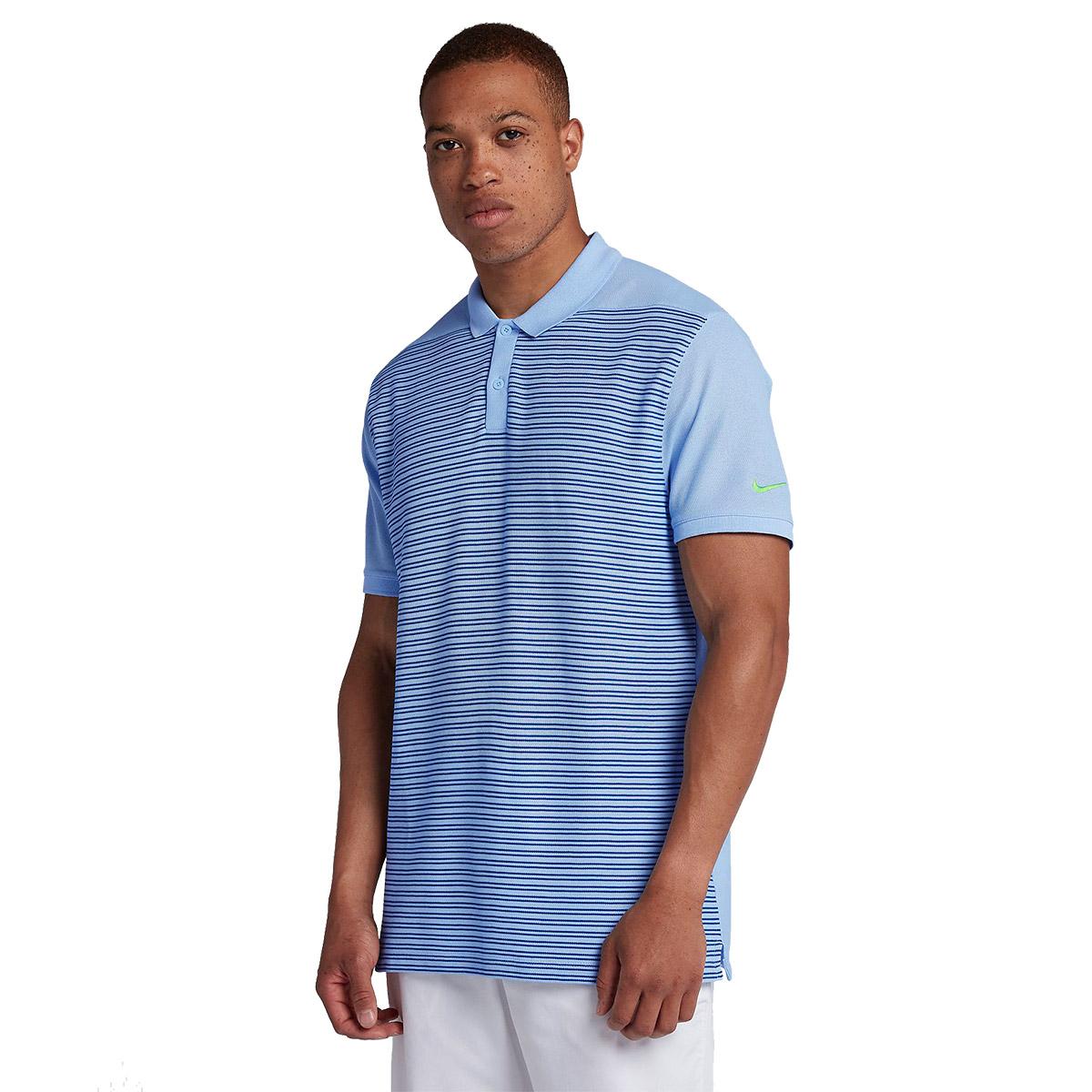 1a0ef046c Nike Golf Classic Stripe Pique Polo Shirt from american golf