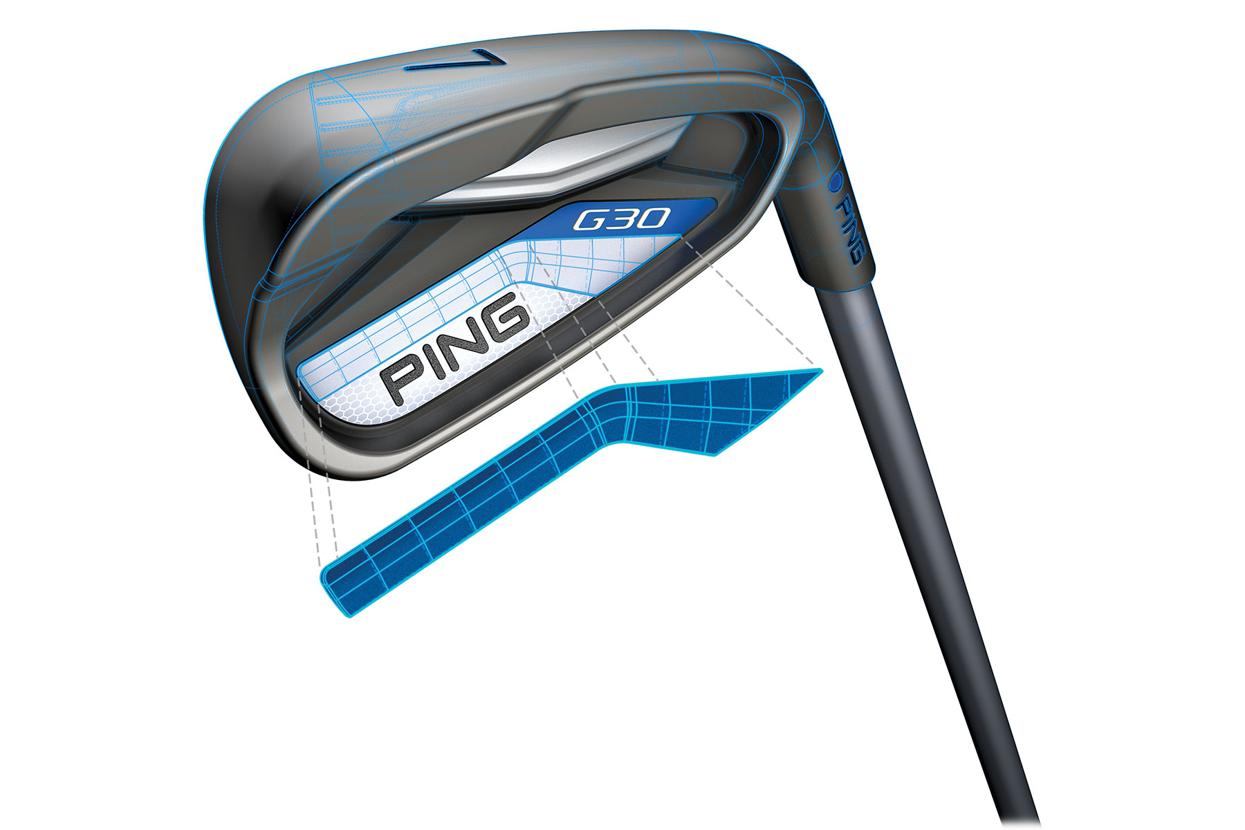 ping g30 irons steel 5 sw from american golf. Black Bedroom Furniture Sets. Home Design Ideas