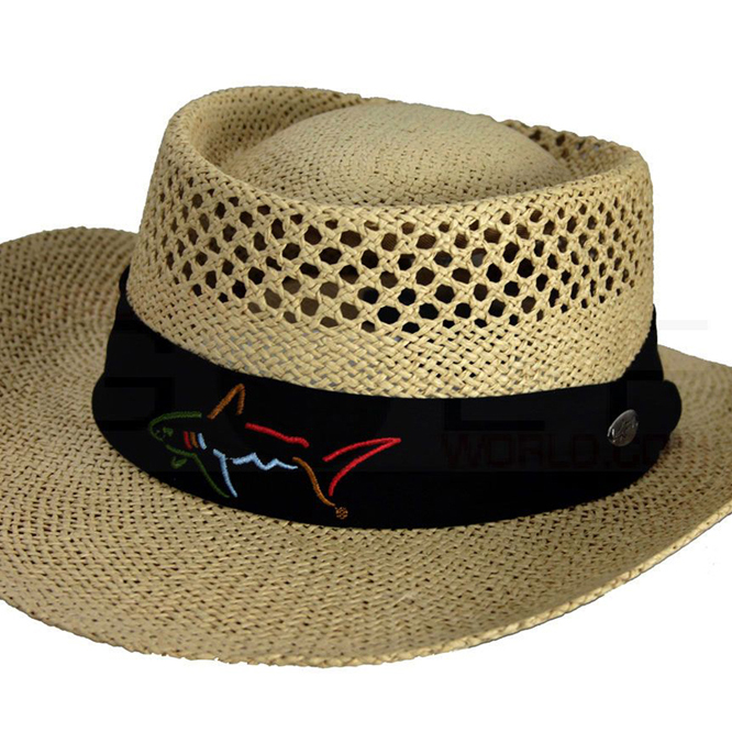 f5c569439 Greg Norman Classic Straw Hat