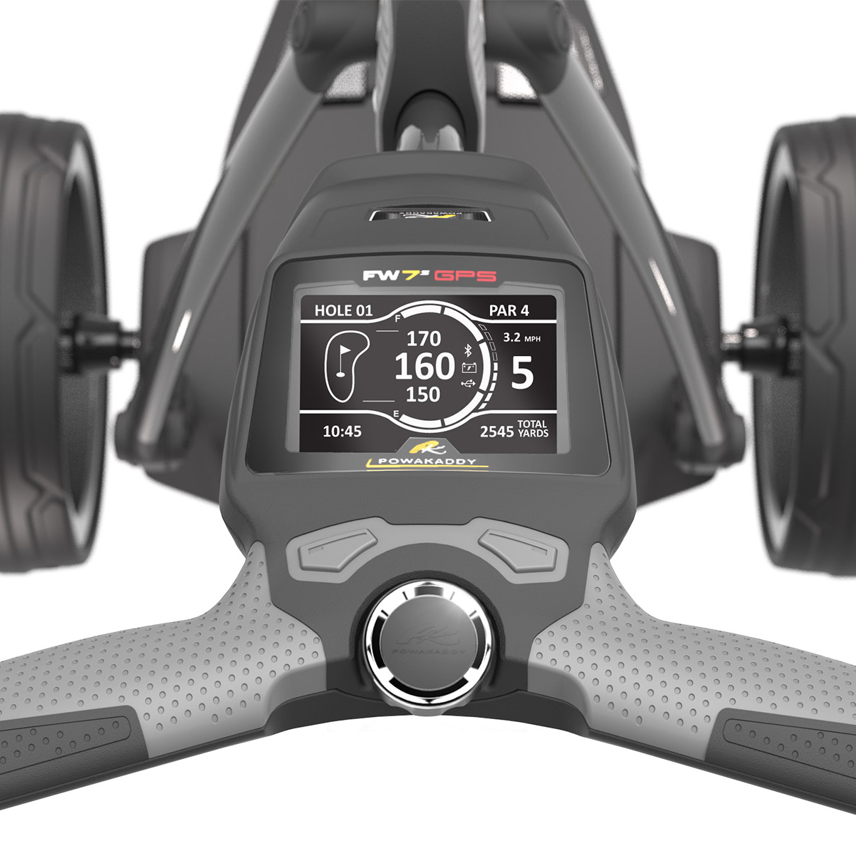 PowaKaddy FW7s 18 Hole Lithium GPS Electric Trolley