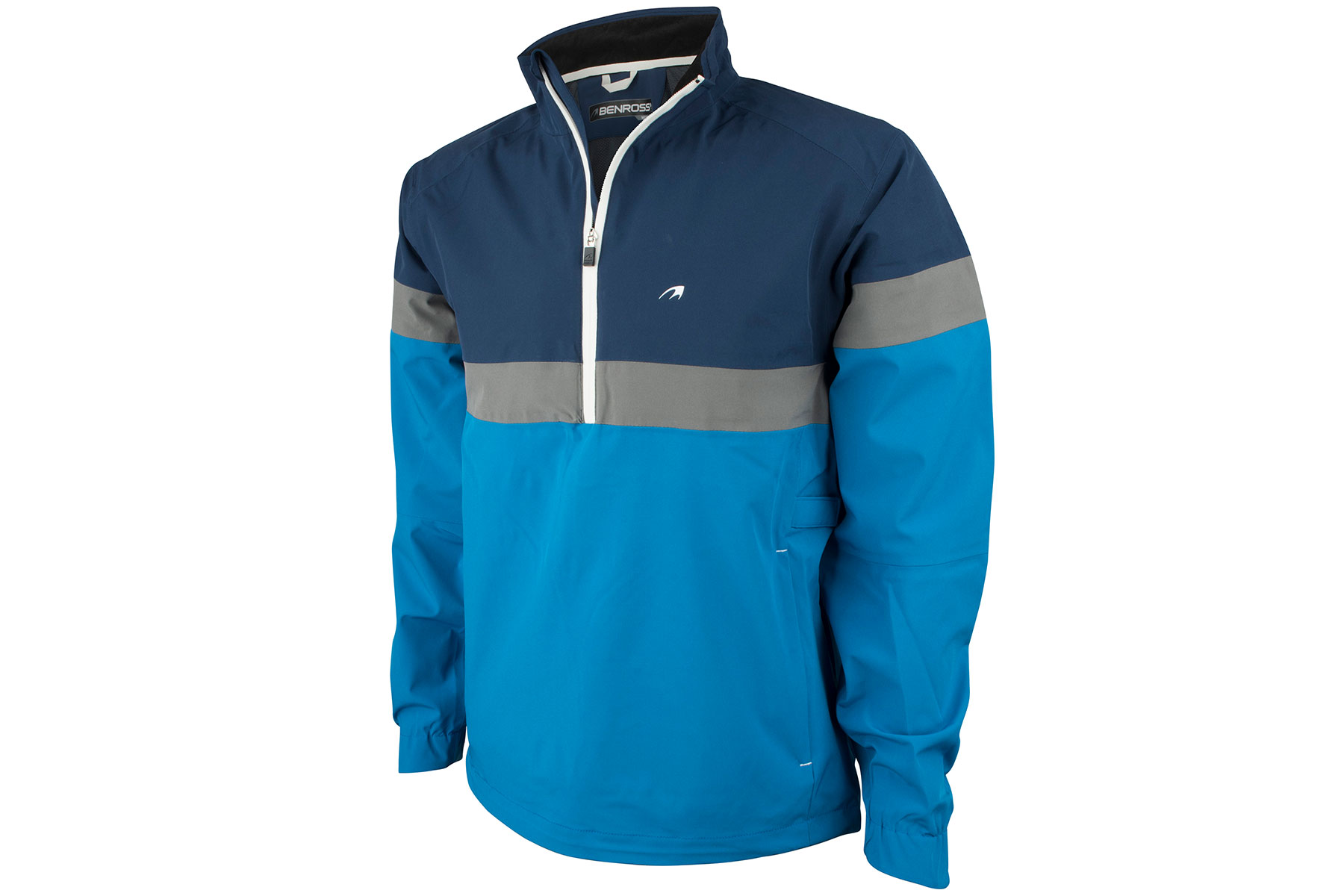 Benross hydro pro 1 4 zip waterproof jacket from american golf for Housse zip collection captur
