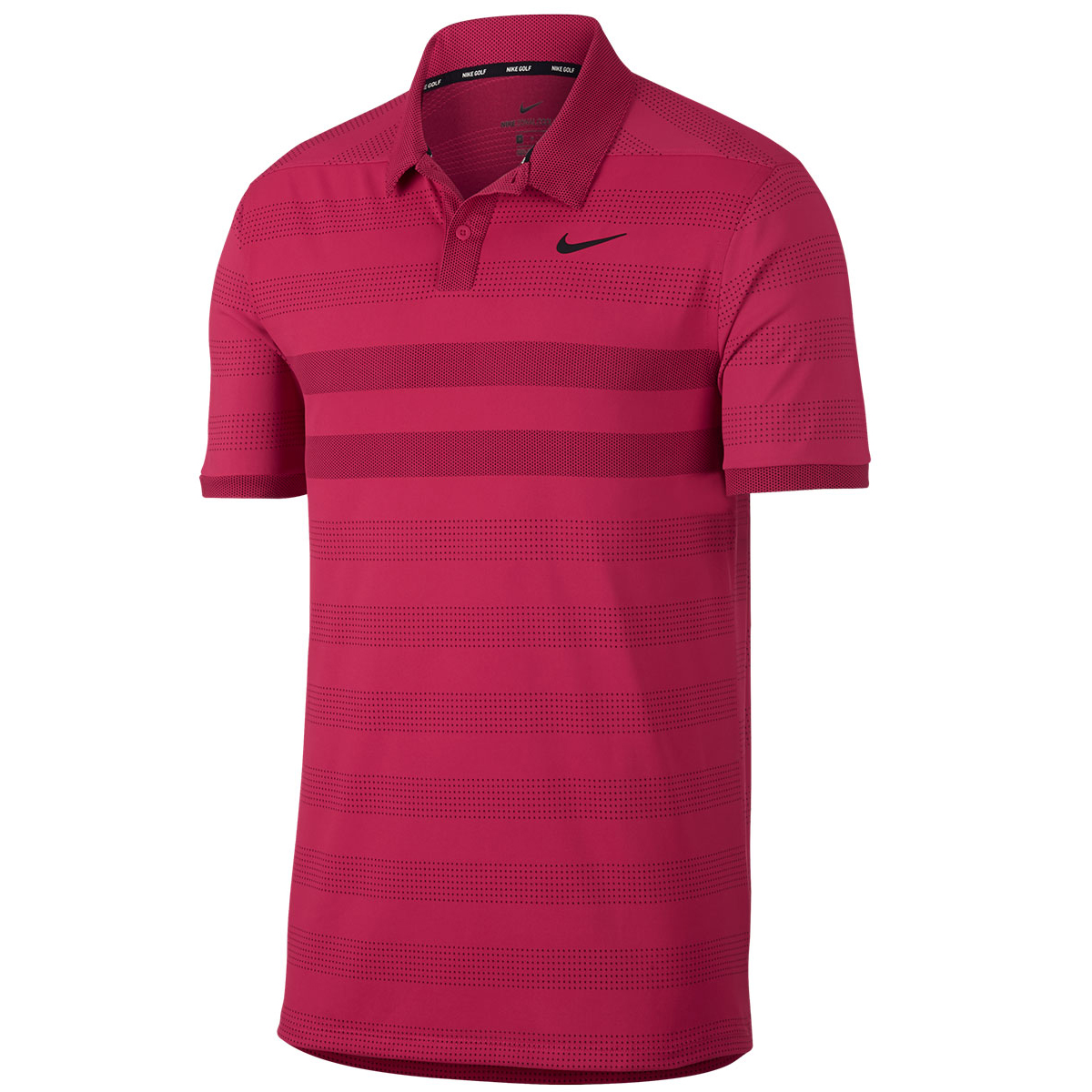 8fa28a4e Nike Golf Zonal Cooling Striped Polo Shirt from american golf