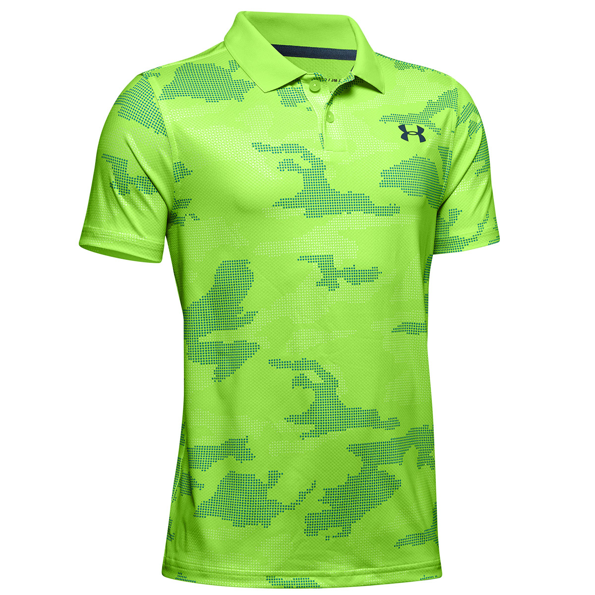 26ed07b1 Under Armour Performance 2.0 Novelty Junior Polo Shirt