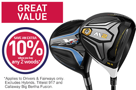 Save 10% When You Buy 2 Woods