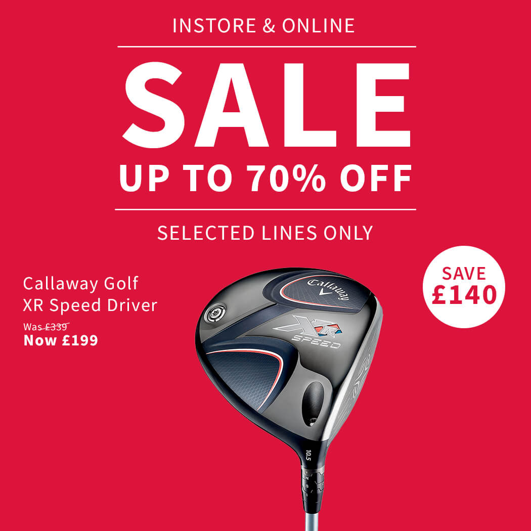 SALE PRODUCT BANNER: CALLAWAY XR