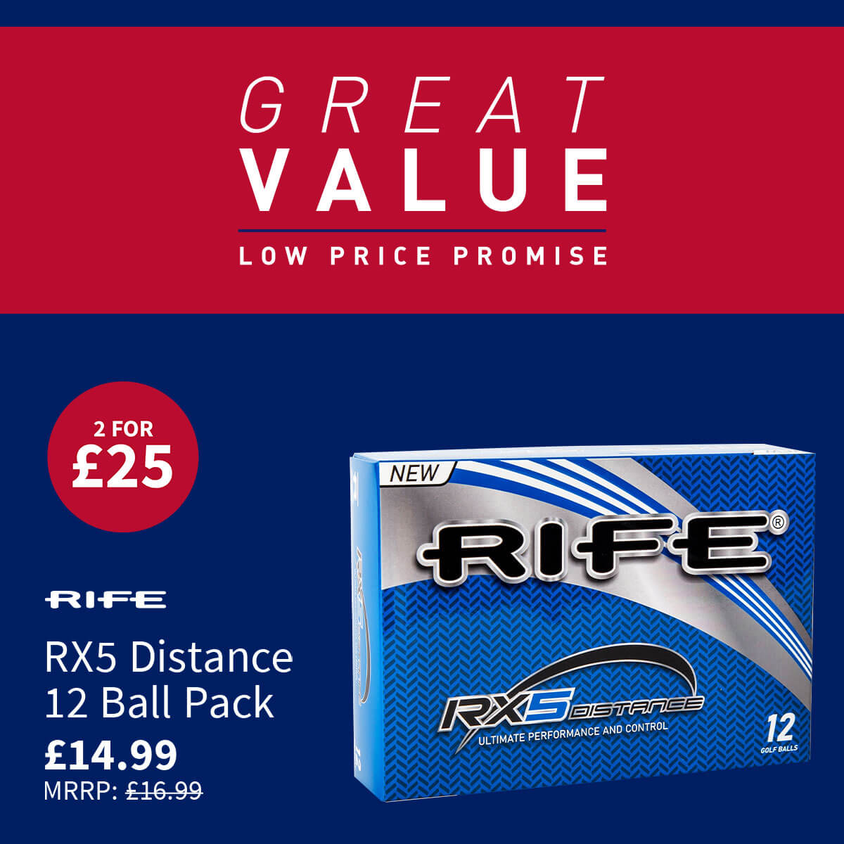 GREAT VALUE - RIFE RX5 BALLS