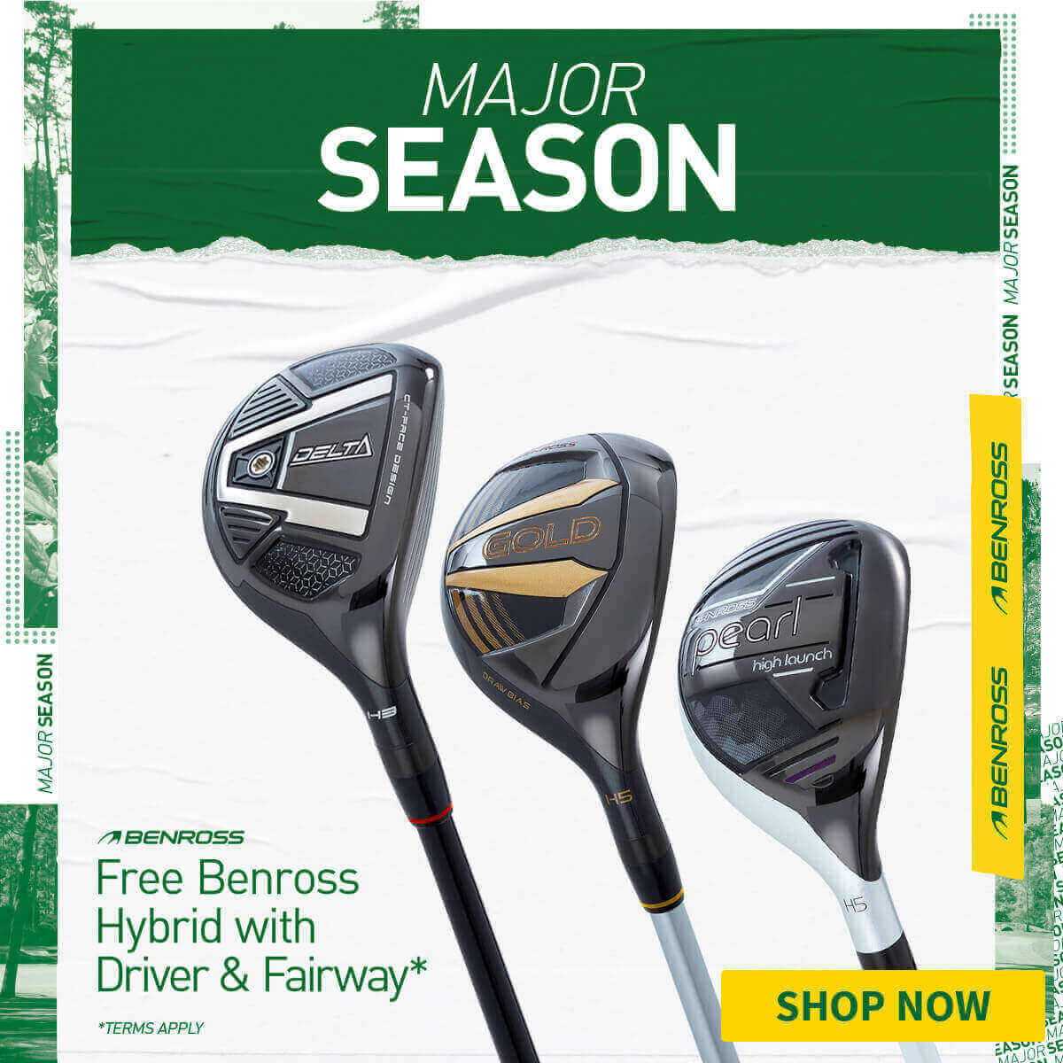 BENROSS DRIVER, FAIRWAY - FREE HYBRID