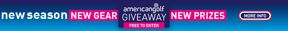 New Year. New Gear. New Prizes. – American Golf Giveaway. Enter for Free