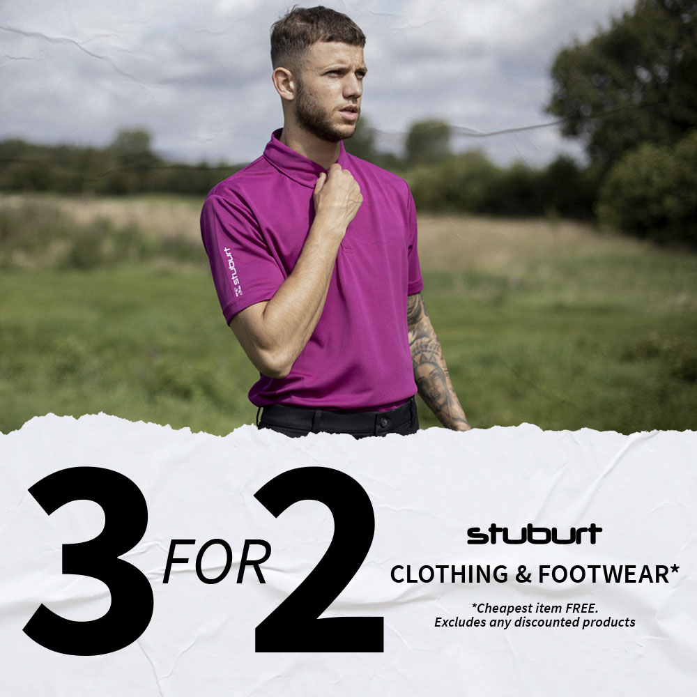 3 FOR 2 ON SELECTED STUBURT CLOTHING