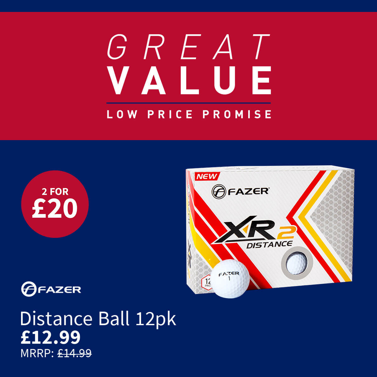 GREAT VALUE - FAZER DISTANCE BALLS