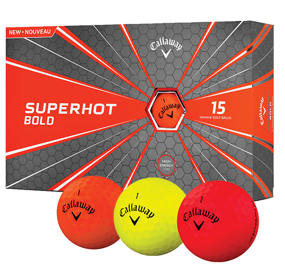 Callaway Golf Superhot Bold 15 Ball Pack