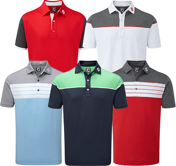 New Season FootJoy Polo Shirts