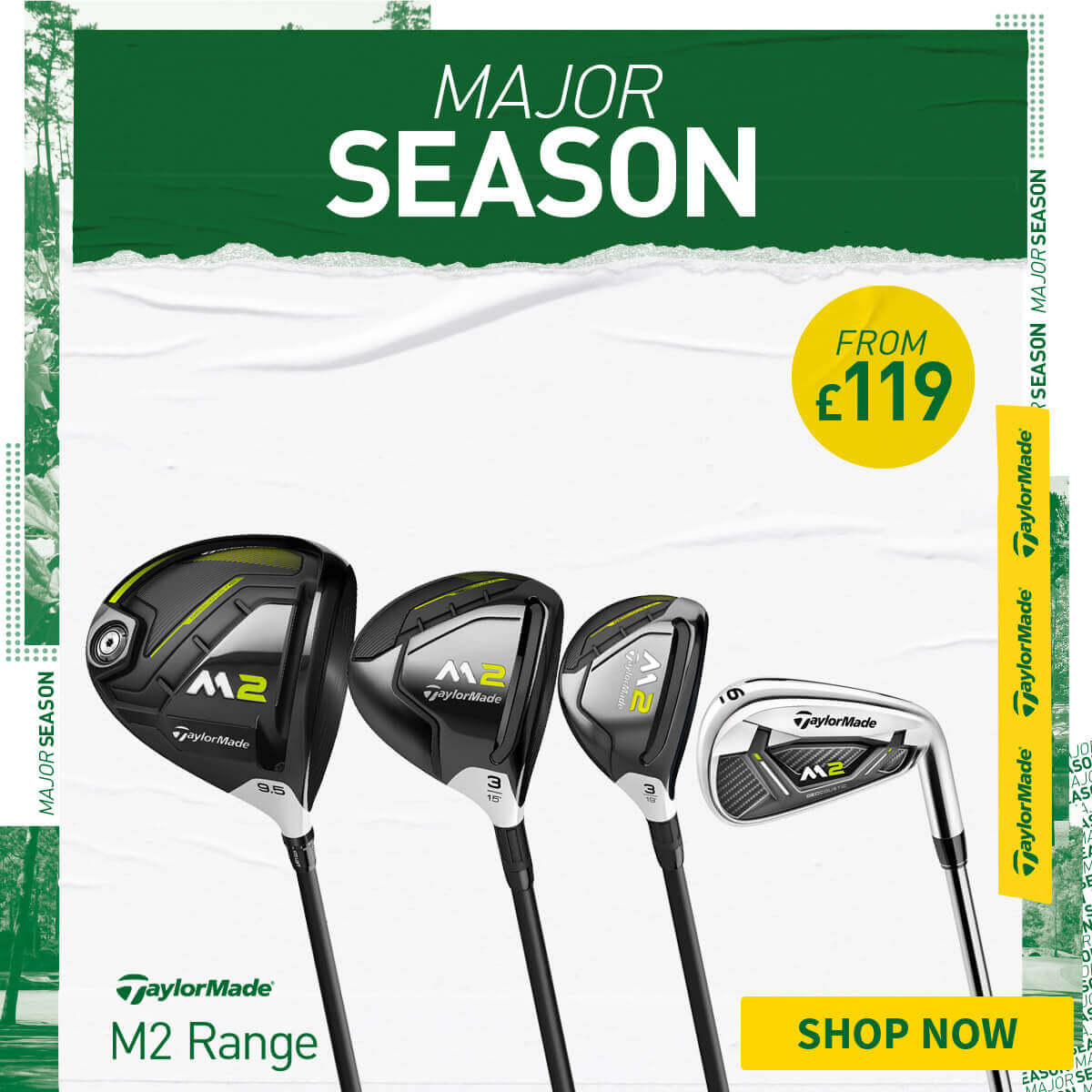 MAJOR SEASON FFERS - THE TAYLORMADE M2 RANGE