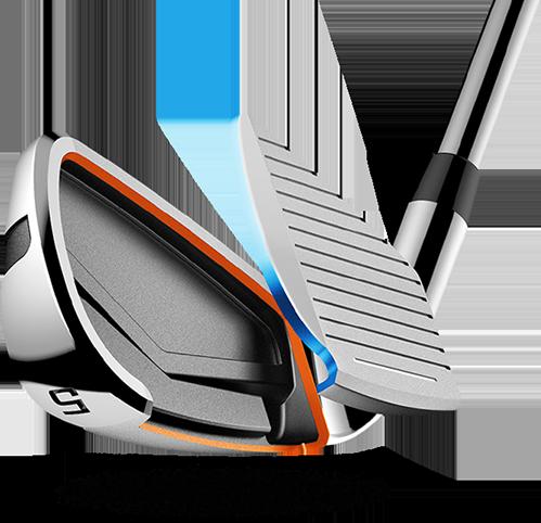Cobra Golf King F7 Irons Variable Progressive Hero