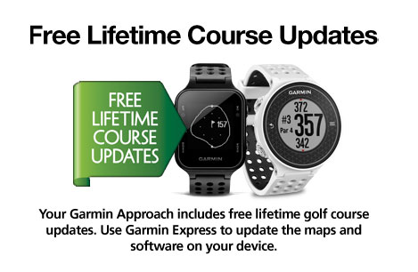 Competition Approved - Free Lifetime Course Updates - Garmin Connect