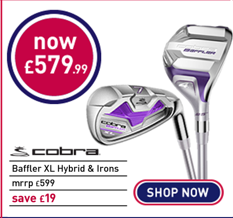 Cobra Golf Baffler XL Ladies Combo Graphite 4-5 Hy & 6-SW