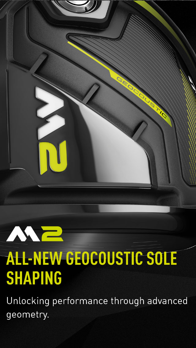 ALL-NEW GEOCOUSTIC SOLE SHAPING