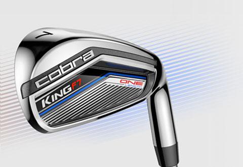Cobra Golf King F7 Irons - One Length Hero