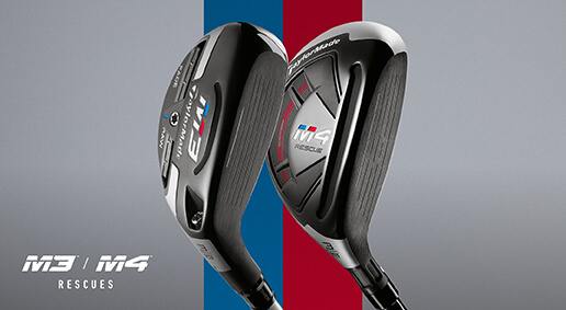 TaylorMade M Rescues