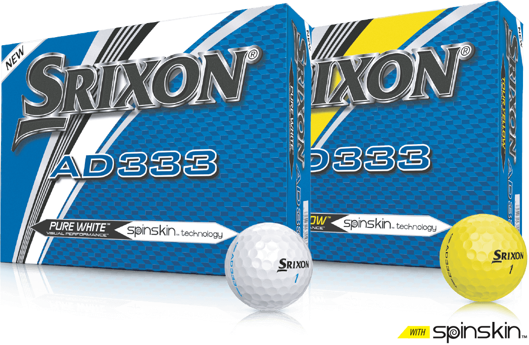 Srixon AD333 balls packs