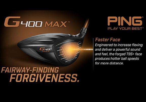 PING G400 Max Range