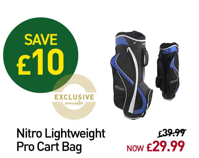 Nitro Golf Lightweight Pro Cart Bag