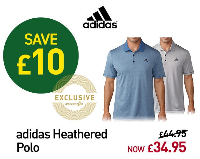 adidas Golf Heathered Polo Shirt