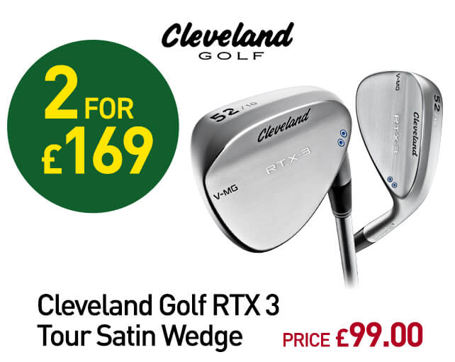 Cleveland Golf RTX 3 Tour Satin Wedge