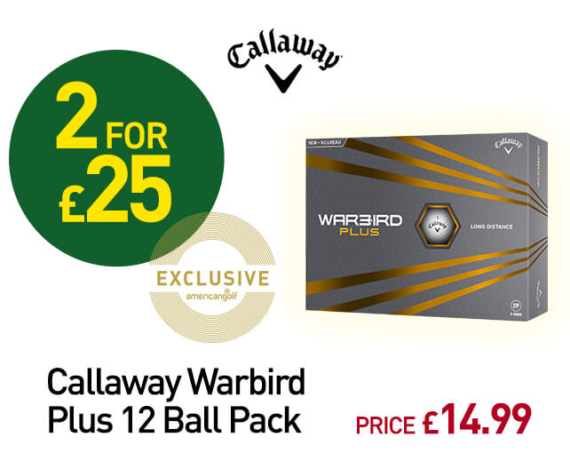 Callaway Warbird Plus 12 Ball Pack