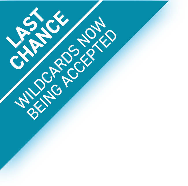 Wild cards now being accepted