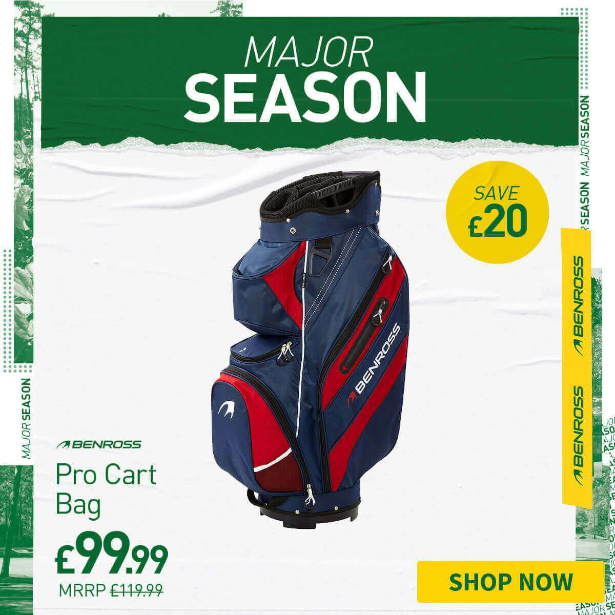 BENROSS PRO CART BAG - ONLY £99.99