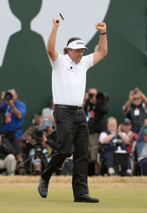 Congratulations Phil Mickelson